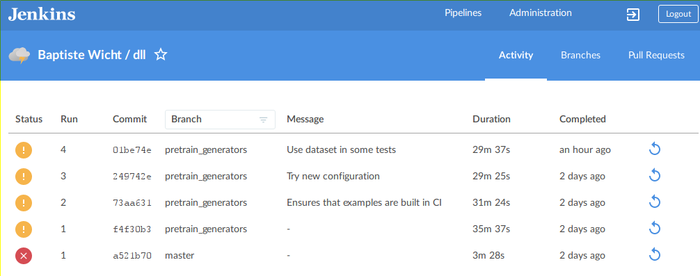 Jenkins Declarative Pipeline and Awesome Github Integration | Blog