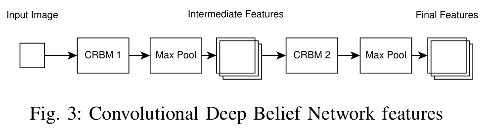 Convolutional Deep Belief Network features
