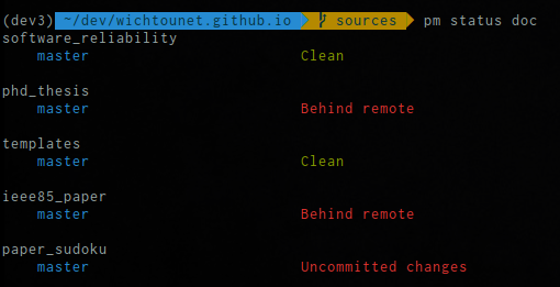 pm 0 1 1 - A simple workspace manager for Git projects | Blog blog